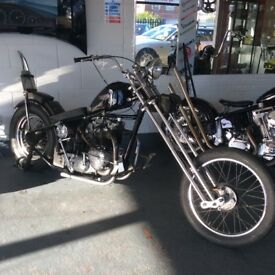 Custom Triumph 650cc 2120 Chopper 1967 Not Harley BSA Bobber Chop