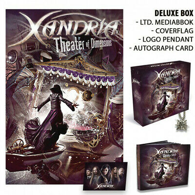 Usado, Xandria - Theater Of Dimensions 2 x CD - USED Like New Album Limited Ed. Box Set comprar usado  Enviando para Brazil