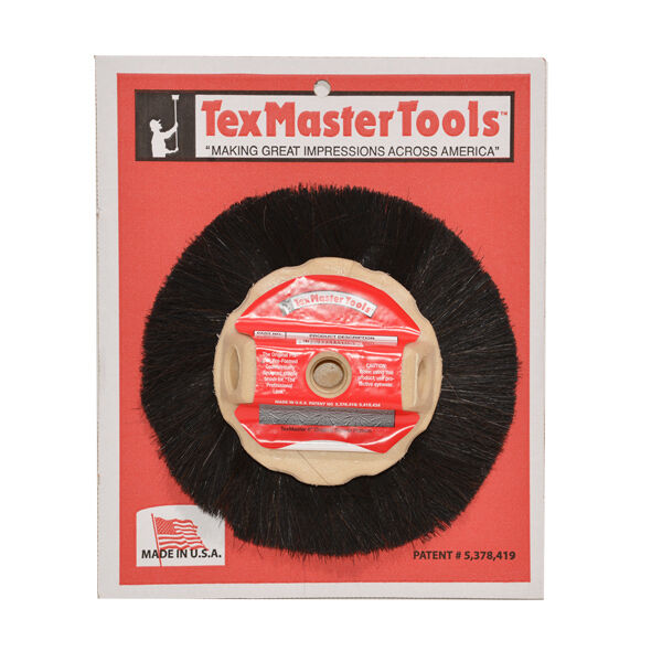 "Texmaster 8"" Drywall Rosebud Pattern Texture Finish Stipple Brush 9901 *NEW*"