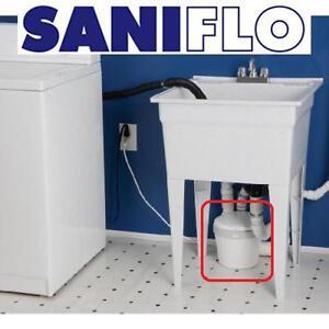 NEW SANIFLO GREY WATER PUMP 021 RESIDENTIAL GRAY WATER PUMP - WHITE - TOOLS PLUMBING WATER PUMP 107721420
