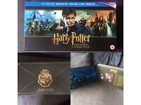 Harry Potter Hogwarts collection Blu Ray/DVD