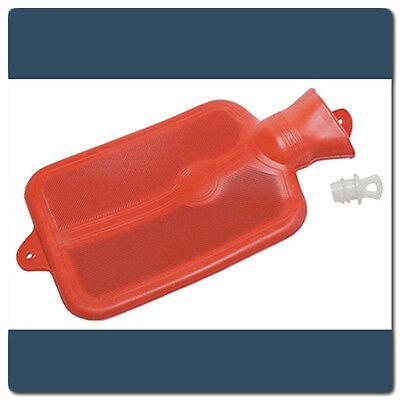 NEW LEAKPROOF Rubber Hot or Cold Water Bottle 2 QUART