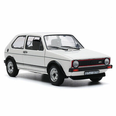 Norev 1:18 Volkswagen Golf GTI 1976 Diecast Model White 188484 *NEW IN BOX*