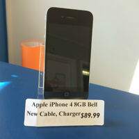 iPhone 4 8GB Bell - CaseDepot 845.5 Mountain Road