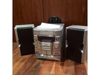 Sharp stereo with 2x amplifiers
