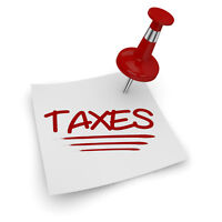TAX TIME is approaching!  $35 for most personal returns filed!