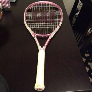 Pink Wilson a Tennis a Racket