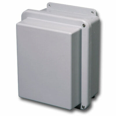 Stahlin Electrical Fiberglass Enclosurebox Rj1614hw Jic 4x 16x14x7 Fg Hw