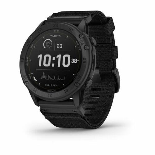 Garmin tactix Delta Solar Tactical GPS Watch with Nylon Band
