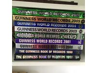 9 years of Guinness world record books