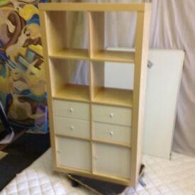 Open back shelving & storage unit