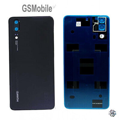 Tapa Bateria Lente Back Battery Cover Black Huawei P20 Dual EML-L29 ORIGINAL