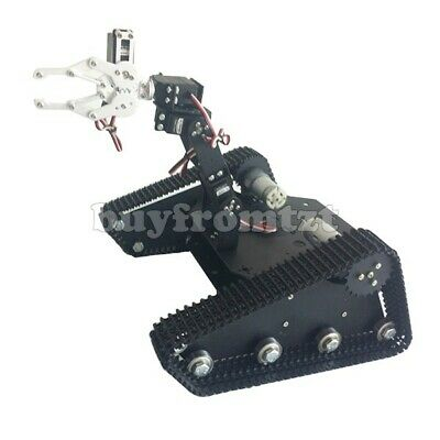 Tk-400 Creeper Truck Chassis Crawler Rc Robot Kit W4dof Camera Ptz Mg996r Servo
