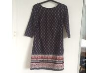 New look Moroccan patterned shift dress