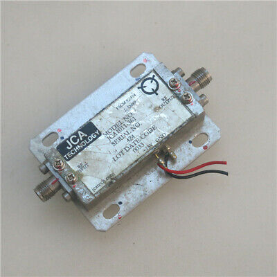 1pc Jca 6.5-10ghz 20db 10dbm 15v Rf Sma Rf Coaxial Microwave Amplifier