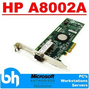 HP-A8002A-4GB-PCI-E-FC-HBA-Adaptor-LPE1150-FC2142SR-397739-001-PCI-E-Fibre-Card