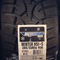 205/55R16 Hercules winter tire and rim package.