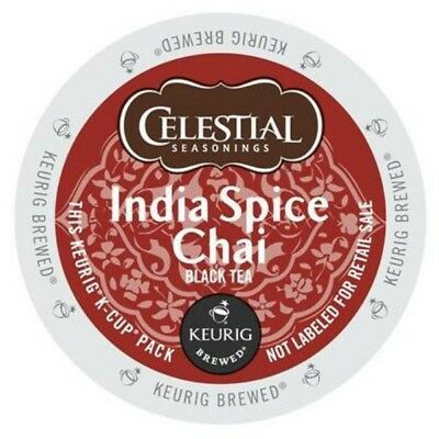 Celestial Seasonings India Spice Chai Tea 24 to 120 Keurig K cups Pick Any Size