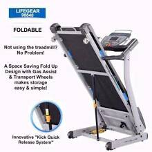 NEW Treadmill.Gel Based Shocks, Programs, Belt 48cm, Touch Scree Malaga Swan Area Preview