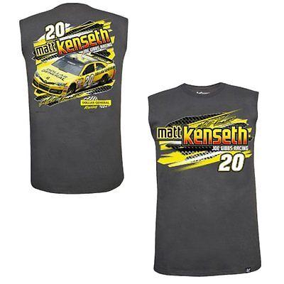 Matt Kenseth 2014 Chase Authentics  20 Dollar General Wedge Muscle Tee Free Ship