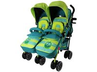 Double buggy brand new never used bought for child minder