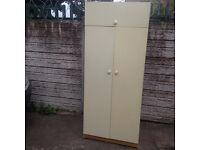 2 Door Wardrobe used condition only £70 Good bargain call now