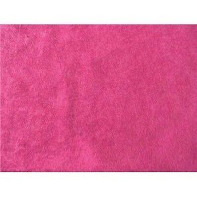 HOT PINK ALOVA SUEDE CLOTH VELVET FABRIC $5.99/YD Pink Velvet Fabric