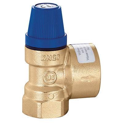 """Membran Sicherheitsventil Überdruckventil Wasser 3/4"""" x 1""""  8 bar gebraucht kaufen  Ammern"""