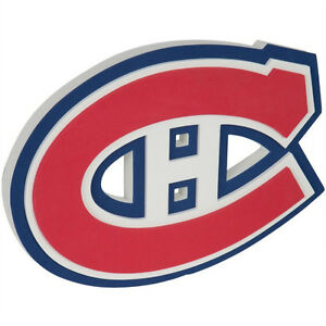Montreal Canadiens - Logo 3D Foam Wall Sign at JJ Sports
