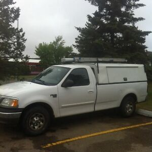 2003 Ford F150 (F250 tow package) Contractor Canopy