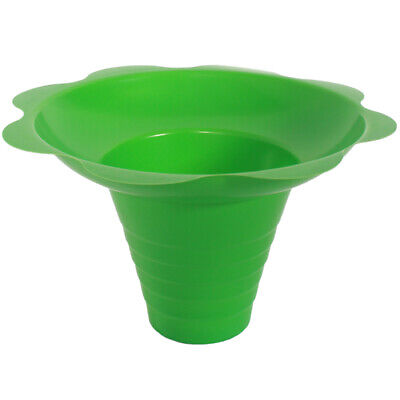 Medium Shaved Ice Sno Cone Flower Cups 8 Oz 250 Count Green