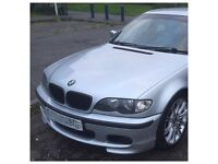 BMW E46 325I M SPORT SALOON BUMPER SIDE SKIRTS SILLS BODY KIT TITIAN SILVER FULL SPARE PARTS