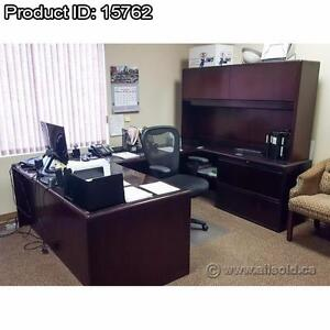 Office Desks (L-Suites, U-Suites, and Executive), Priced to Move, Starting at $400 each