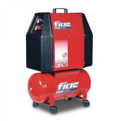 Compressore Silenziato Fiac Compact 24 - Senza Olio - Professionale