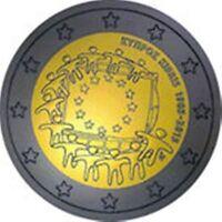 2 Euro Commemorativo Cipro 2015 - 30° Anniv. Bandiera Europea -  - ebay.it