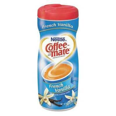 COFFEE-MATE 000500000357758 French Vanilla Creamer Powder,15 oz. Fat Free French Vanilla Creamer