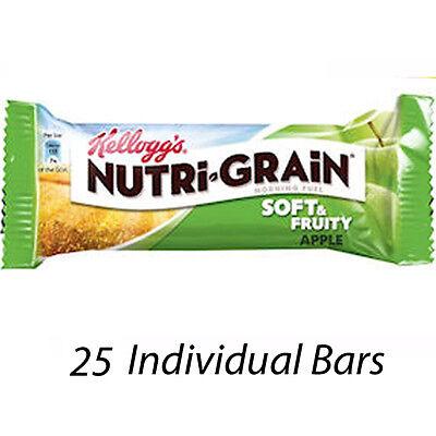Nutri-grain Cereal Bars (KELLOGG'S NUTRI-GRAIN FRUITY CEREAL BARS APPLE CASE OF 25 BARS 226778 WHOLESALE)