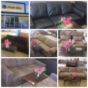 SOFA SALE AT AUSSIE SAVING FURNITURE, GRAB A BARGAIN!!!!! Bentley Canning Area Preview