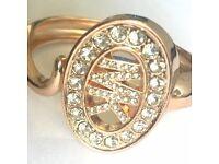 Micheal Kors MK Logo Gold Metal Bracelet