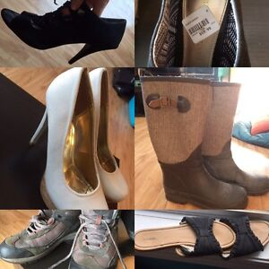 Shoes all for 40$