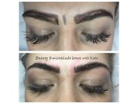 Microbladed brows with Kate