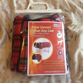 Royal Stewart Tartan Dog Coat