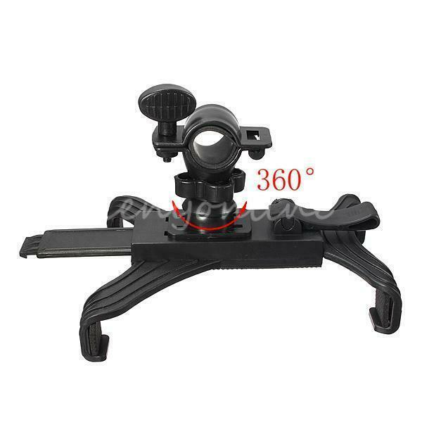 """Music Microphone Stand Mount Holder Bicycle For iPad 3 7-11"""""""