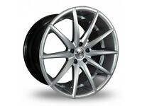 "19"" Staggered AVA New York on tyres for an E90, E91, E92, E93 BMW 3 Series, Vauxhall Insignia ETC"