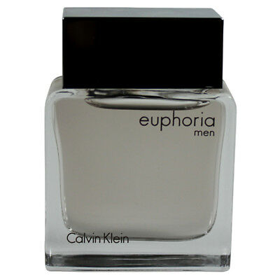 Euphoria by Calvin Klein for Men Miniature EDT Cologne Spray 0.5 oz.-Unboxed NEW