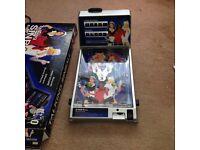 Electronic pinball machine