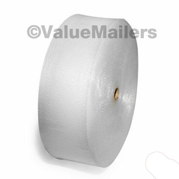 """Small Bubble Roll 3/16"""" x 100' x 12"""" Perforated 3/16 Bubbles 100 Square Ft Wrap"""
