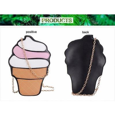 Fashion Women Cupcake Shape Handbag Shoulder Bag Purse Messenger Cross Body Jian