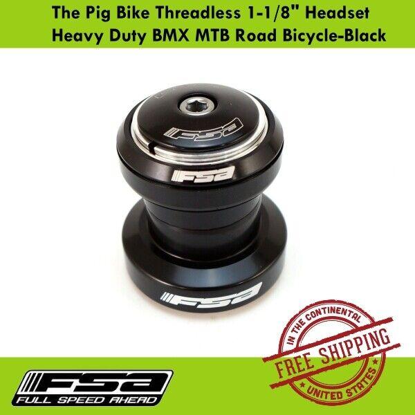 FSA The Pig 1-1//8 Threadless headset argent