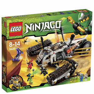 Lego Ninjago Ultra Sonic Raider Kit # 9449  RETIRED